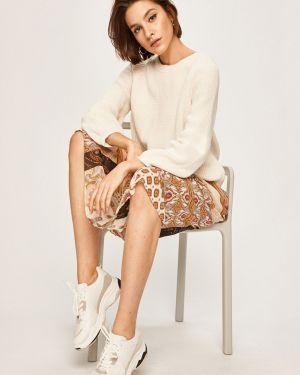 Sweter z wzorem z raglanowymi rękawami Answear