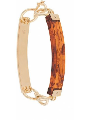 Złota bransoletka ze złota pozłacana Bar Jewellery