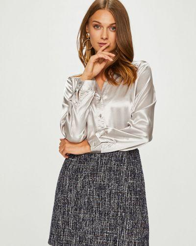 Блузка с длинным рукавом на пуговицах с воротником Answear