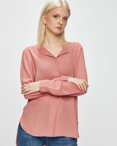 Блузка с длинным рукавом прямая на пуговицах Vila