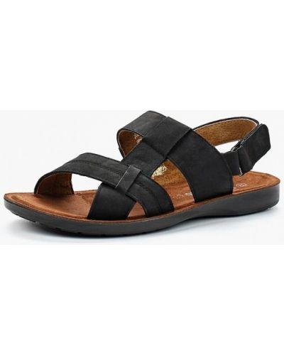 Черные сандалии Tesoro