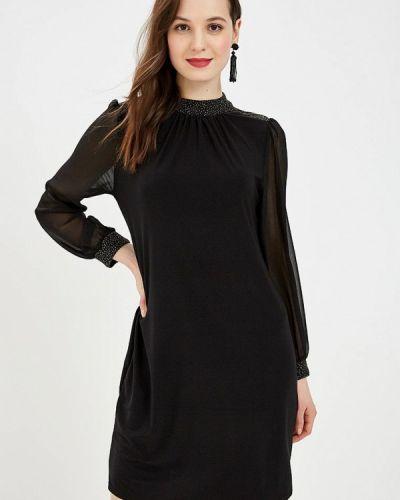 Вечернее платье весеннее черное Wallis