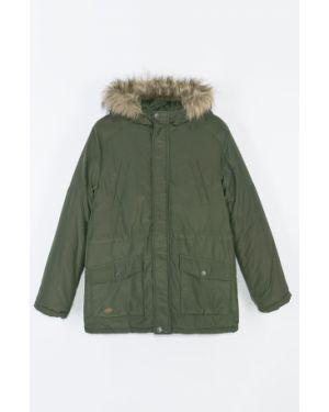 Куртка теплая зеленый Coccodrillo