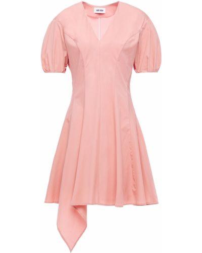 Плиссированное хлопковое платье мини стрейч Each X Other