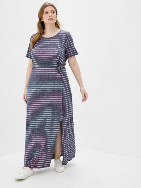 Повседневное платье синее весеннее Junarose