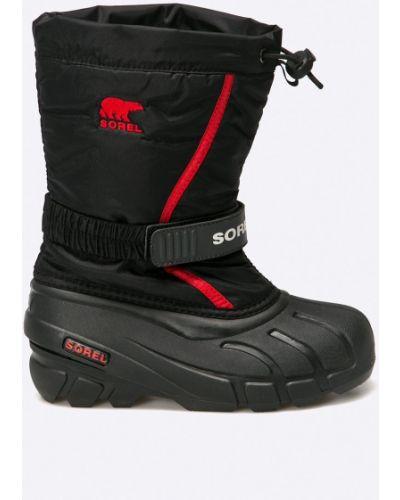 Ботинки черные мембранные Sorel