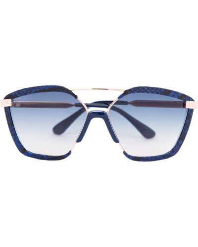 Солнцезащитные очки металлические пластиковые Jimmy Choo  (sunglasses)