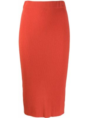 Юбка карандаш - оранжевая Cashmere In Love