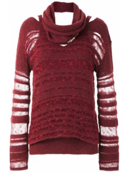 Трикотажная блузка - красная Mara Mac