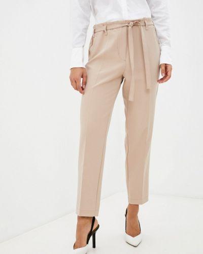 Бежевые брюки осенние Franco Vello