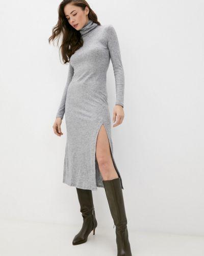 Трикотажное платье - серое Springfield