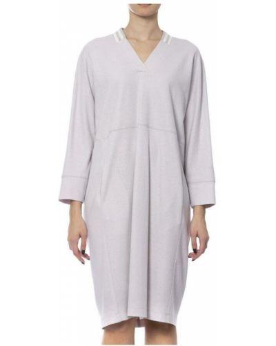 Beżowa sukienka Peserico