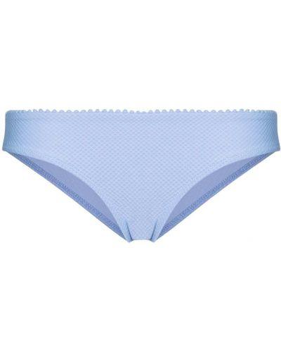 Нейлоновые синие пляжные плавки бикини Heidi Klein
