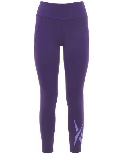 Фиолетовые колготки эластичные Reebok Classics