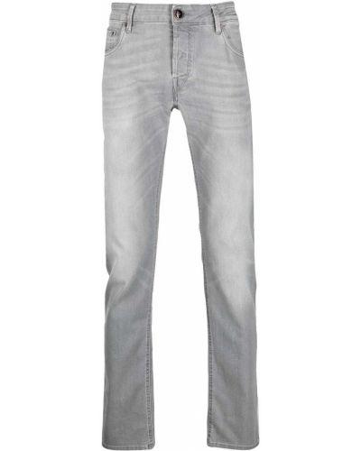 Klasyczne jeansy z paskiem bawełniane Hand Picked