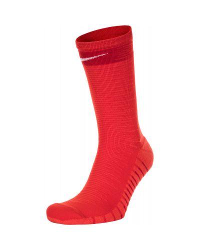 Спортивные носки красные нейлоновые Nike