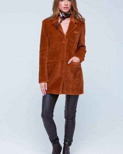 Пальто из альпаки Emass