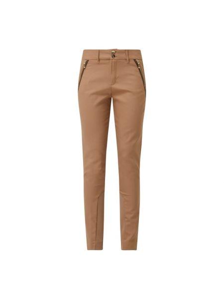 Spodnie bawełniane - beżowe Mos Mosh