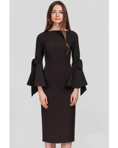 Черное платье весеннее Herstory