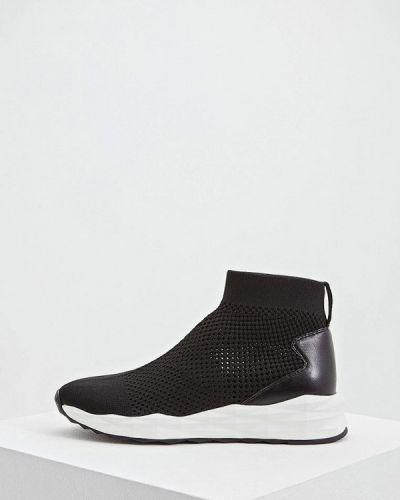 Высокие кроссовки черный Ash