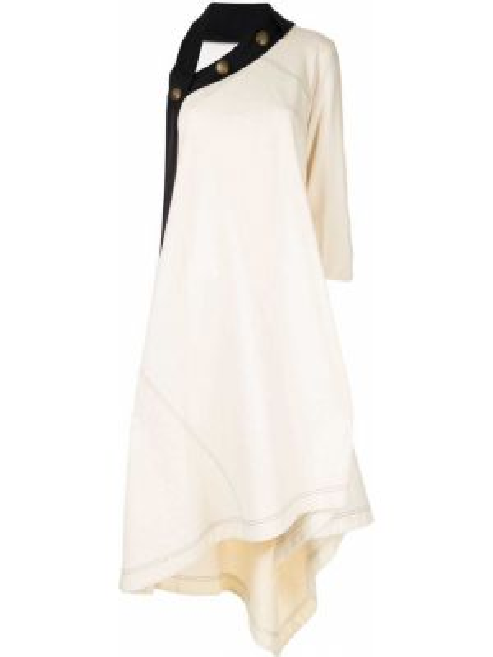 Платье на пуговицах свободного кроя Monse