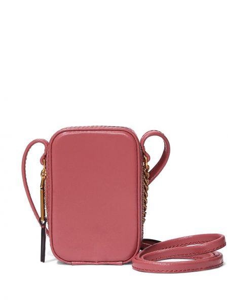 Кожаная сумка - розовая Marc Jacobs