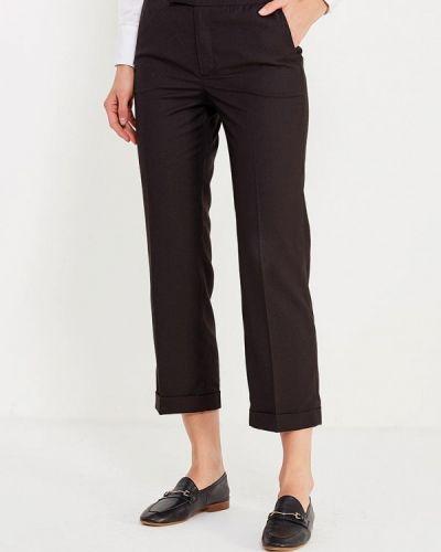 Черные брюки с завышенной талией Cocos