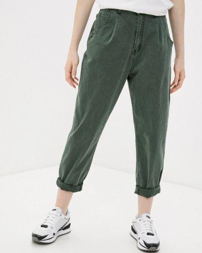 Повседневные зеленые брюки G&g
