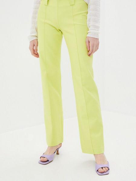 Классические брюки зеленый весенний Stefanel