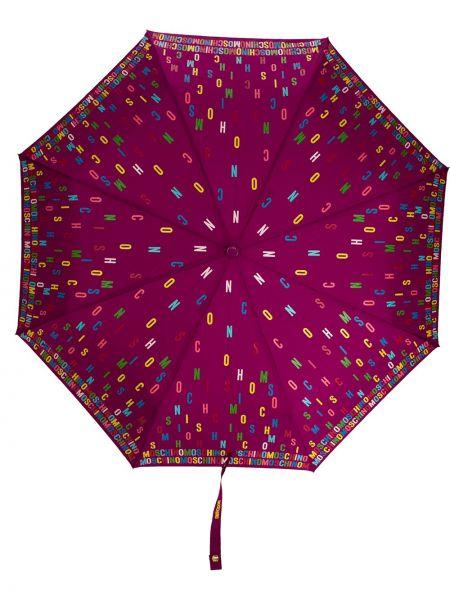Parasol - fioletowy Moschino