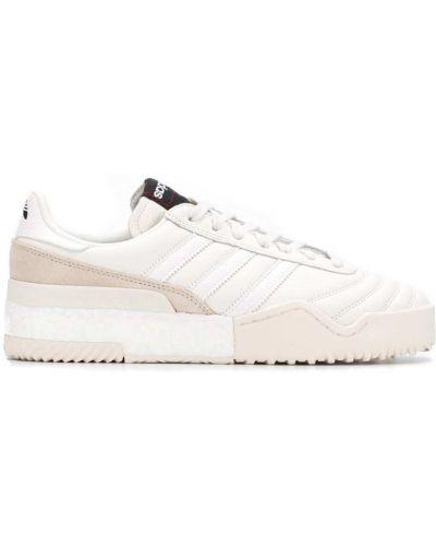 Кожаные кроссовки белый с логотипом Adidas Originals By Alexander Wang