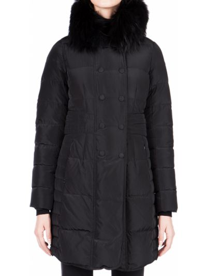 Куртка из полиэстера - черная Cerruti 18crr81