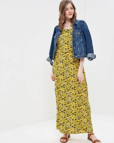 Желтое платье Noisy May