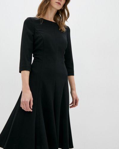 Повседневное черное повседневное платье Calvin Klein