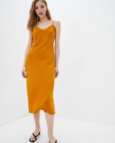 Оранжевое платье 7arrows