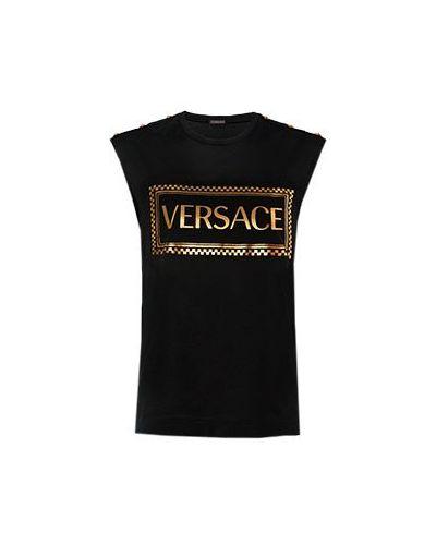 Футболка черная Versace