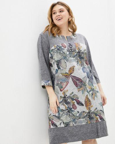 Повседневное серое платье Prewoman