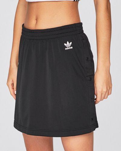 Długo spódnica czarny skromny Adidas Originals