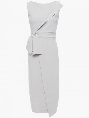 Платье с запахом - серое Chiara Boni La Petite Robe