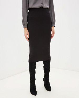 Облегающее платье осеннее черное Ovs