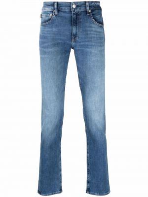 Синие джинсы с карманами Calvin Klein Jeans
