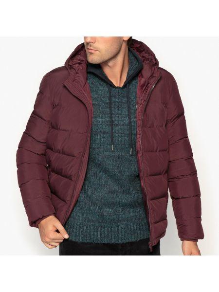 Куртка с капюшоном стеганая с воротником-стойкой La Redoute Collections