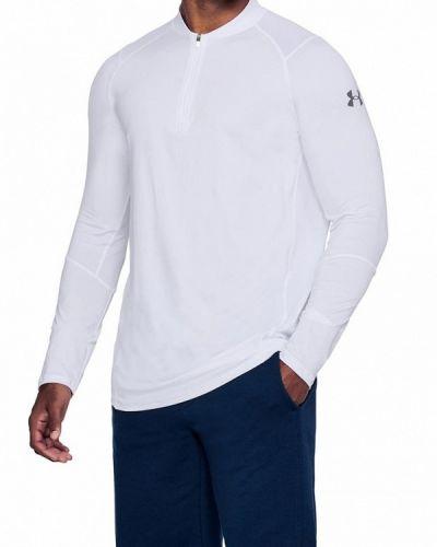 Белый спортивный лонгслив Under Armour