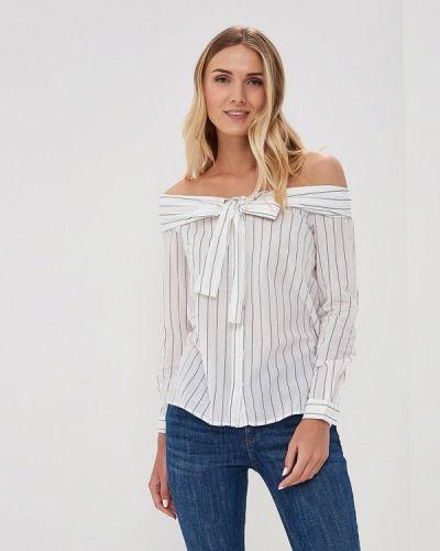 Белая блузка с открытыми плечами Befree
