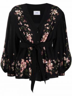 Шелковая блузка - черная Erdem
