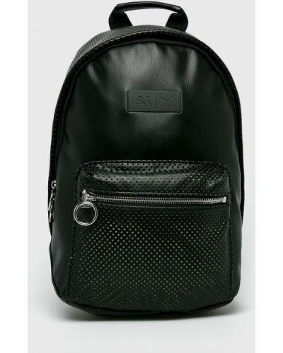 Кожаный рюкзак с подкладкой черный Puma