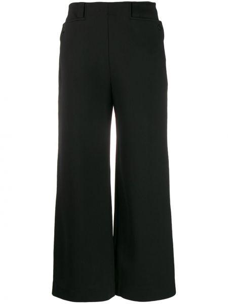 Szerokie spodnie z wysokim stanem z kieszeniami The Row