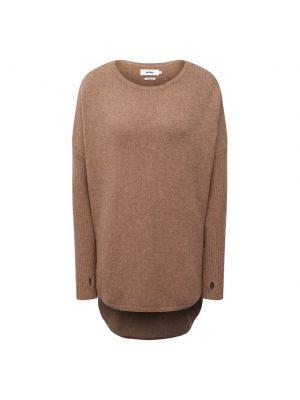 Кашемировый пуловер - бежевый Not Shy