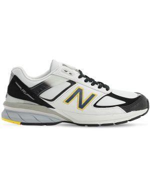 Кроссовки замшевые на шнуровке New Balance