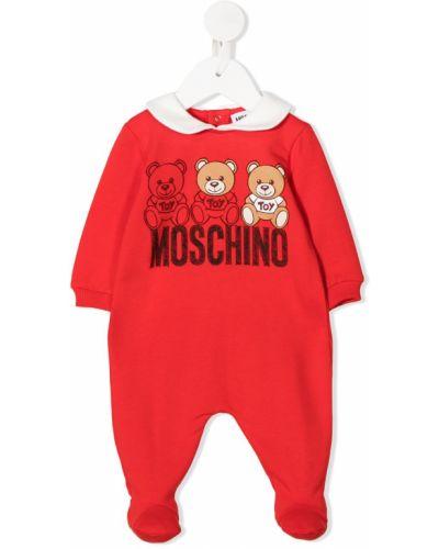Pajacyk z logo Moschino Kids